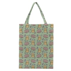 Cute Hamster Pattern Classic Tote Bag by BangZart