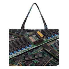 Computer Ram Tech Medium Tote Bag by BangZart