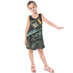 Computer Ram Tech Kids  Sleeveless Dress