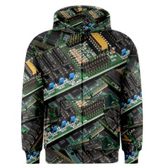 Computer Ram Tech Men s Zipper Hoodie