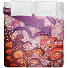 Colorful Art Traditional Batik Pattern Duvet Cover Double Side (king Size) by BangZart