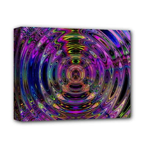 Color In The Round Deluxe Canvas 14  X 11  by BangZart
