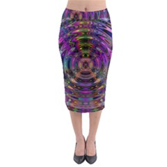 Color In The Round Midi Pencil Skirt