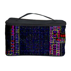Cad Technology Circuit Board Layout Pattern Cosmetic Storage Case by BangZart