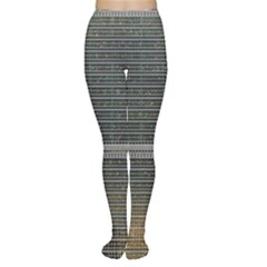 Building Pattern Women s Tights