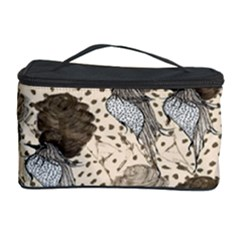 Bouffant Birds Cosmetic Storage Case by BangZart