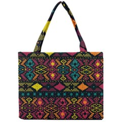 Bohemian Patterns Tribal Mini Tote Bag by BangZart