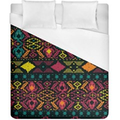 Bohemian Patterns Tribal Duvet Cover (california King Size) by BangZart