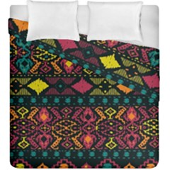Bohemian Patterns Tribal Duvet Cover Double Side (king Size) by BangZart