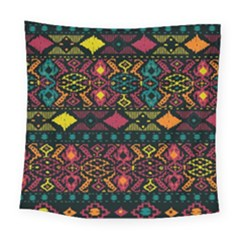 Bohemian Patterns Tribal Square Tapestry (large)