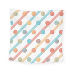 Simple Saturated Pattern Square Tapestry (small) by linceazul