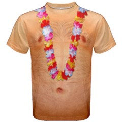 Hairy Chest Naked Body Faux Men s Cotton Tee
