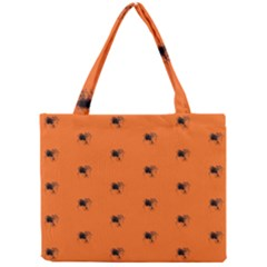 Funny Halloween   Spider Pattern Mini Tote Bag