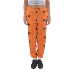 Funny Halloween   Spider Pattern Women s Jogger Sweatpants