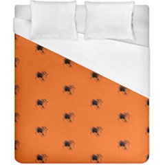 Funny Halloween   Spider Pattern Duvet Cover (California King Size)