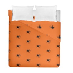 Funny Halloween   Spider Pattern Duvet Cover Double Side (Full/ Double Size)