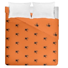 Funny Halloween   Spider Pattern Duvet Cover Double Side (Queen Size)