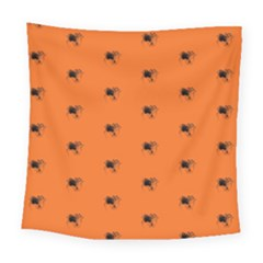 Funny Halloween   Spider Pattern Square Tapestry (Large)