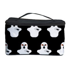 Funny Halloween   Ghost Pattern Cosmetic Storage Case by MoreColorsinLife