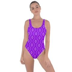 Decorative Seamless Pattern  Bring Sexy Back Swimsuit