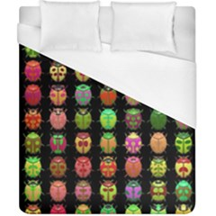 Beetles Insects Bugs Duvet Cover (california King Size) by BangZart