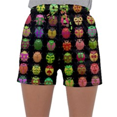 Beetles Insects Bugs Sleepwear Shorts