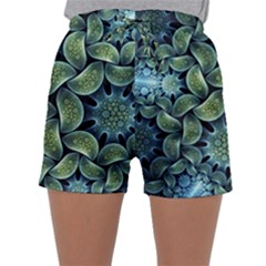Blue Lotus Sleepwear Shorts