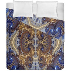 Baroque Fractal Pattern Duvet Cover Double Side (california King Size)