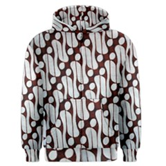 Batik Art Patterns Men s Zipper Hoodie by BangZart