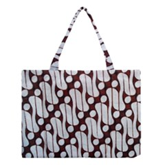 Batik Art Patterns Medium Tote Bag by BangZart