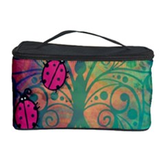 Background Colorful Bugs Cosmetic Storage Case by BangZart
