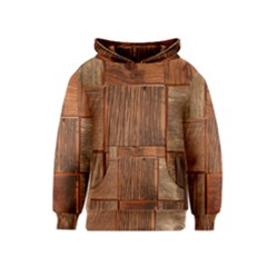Barnwood Unfinished Kids  Pullover Hoodie