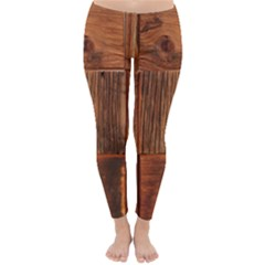 Barnwood Unfinished Classic Winter Leggings