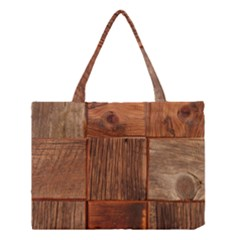 Barnwood Unfinished Medium Tote Bag by BangZart