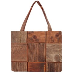 Barnwood Unfinished Mini Tote Bag by BangZart