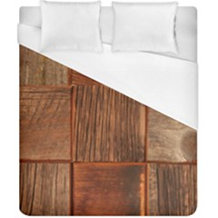 Barnwood Unfinished Duvet Cover (california King Size) by BangZart