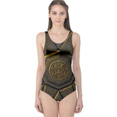 Aztec Runes One Piece Swimsuit