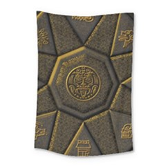 Aztec Runes Small Tapestry