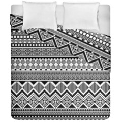 Aztec Pattern Design Duvet Cover Double Side (california King Size)