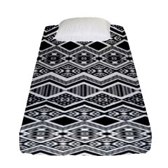Aztec Design  Pattern Fitted Sheet (single Size)
