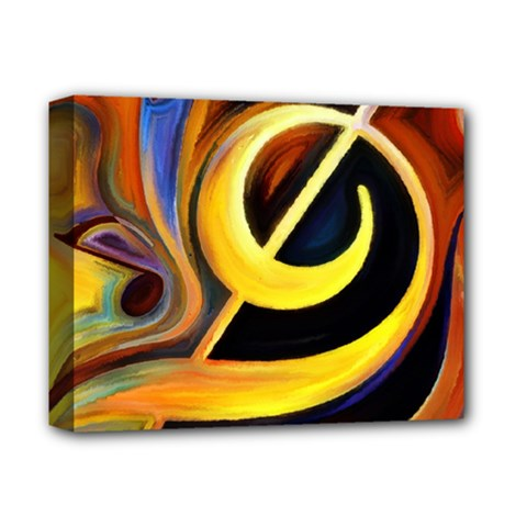 Art Oil Picture Music Nota Deluxe Canvas 14  X 11  by BangZart