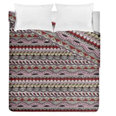 Aztec Pattern Art Duvet Cover Double Side (queen Size) by BangZart