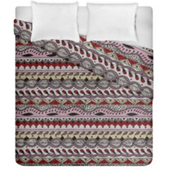 Aztec Pattern Art Duvet Cover Double Side (california King Size) by BangZart