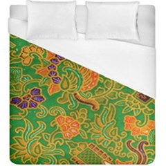 Art Batik The Traditional Fabric Duvet Cover (king Size) by BangZart