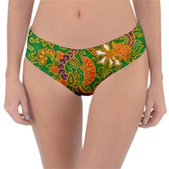 Art Batik The Traditional Fabric Reversible Classic Bikini Bottoms by BangZart