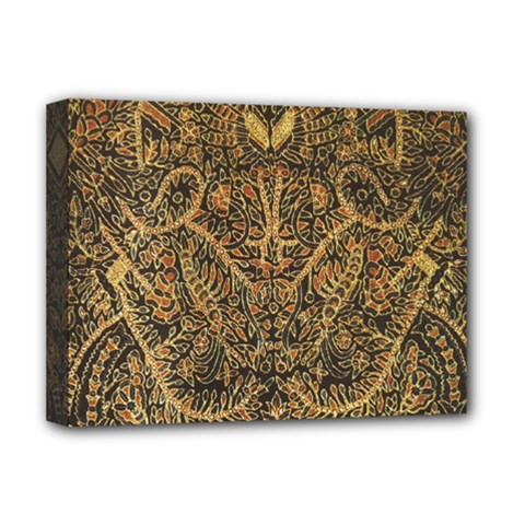 Art Indonesian Batik Deluxe Canvas 16  X 12   by BangZart