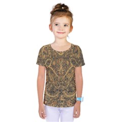 Art Indonesian Batik Kids  One Piece Tee