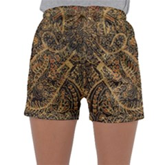Art Indonesian Batik Sleepwear Shorts