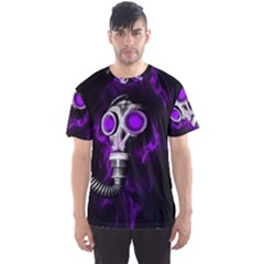 Gas Mask Men s Sports Mesh Tee