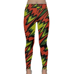 Distorted Shapes                           Yoga Leggings by LalyLauraFLM